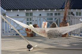 deck hammock stand doherty house luxurious and cozy deck hammock