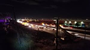 Interstate Power And Light I 215 West In Wvc Reopens After Crane Hits Power Line Gephardt Daily