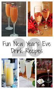 20 fun new year u0027s eve drink recipes