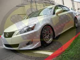 lexus is 250 body kit style lip kit is250 06 09