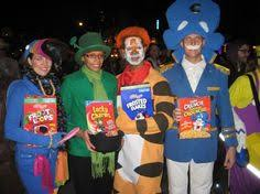 awesome homemade cereal mascot group costumes homemade cereal