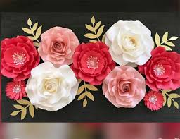 flower backdrop hot selling paper flowers wall wedding paper flower backdrop