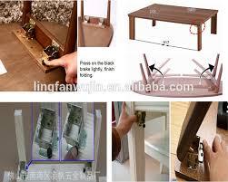 adjustable folding table leg hardware china supplier cheap sale self lock folding table legs hinge on