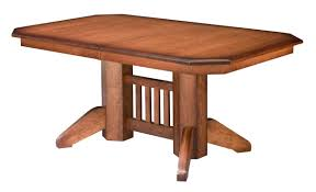 Mission Style Bedroom Furniture Chair Hand Made Oak Farm Table With Mission Style Chairs By The
