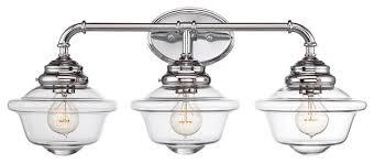 Bathroom Vanity Light Fixtures Chrome Endearing Farmhouse Bathroom Lighting Light Vanity Farmhouse