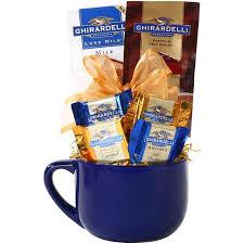 ghirardelli gift baskets alder creek gift baskets ghirardelli latte mug gift 5 pc
