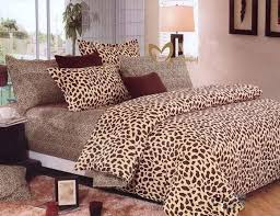 Leopard Comforter Set King Size 7 Pieces Multi Animal Print Comforter Set Queen Size Bedding Brown