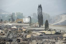 Wildfire Quesnel by Weather Conditions Improve For B C Wildfires 10 000 People