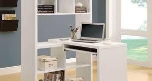 white modern office desk desk corner computer desk with shelves cool small computer desk
