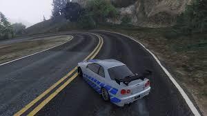 nissan drift cars nissan silvia s15 drift handling gta5 mods com