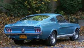mustang fastback roof ford mustang fastback sport roof 1967 clearwater aqua for sale