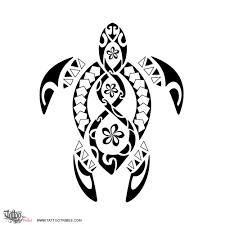 tribal turtle tattoos samoan half sleeve pacific island
