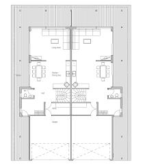 duplex floor plans for narrow lots duplex house oz83d duplex house plan with four bedrooms house plan