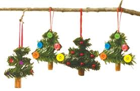 crafts for cinnamon stick tree ornaments