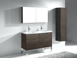 48 inch white bathroom vanity without top celine double sink
