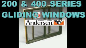 400 u0026 200 anderson window sash replacement youtube