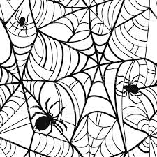 seamless halloween background seamless halloween background pattern stock vector art 613887364