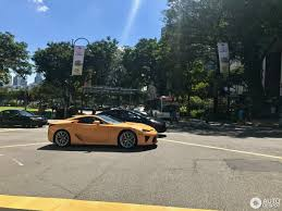 lexus lfa singapore owner lexus lfa 5 august 2017 autogespot
