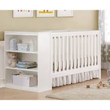Convertible Cribs With Storage Baby Relax Abby Storage Ottoman Walmart