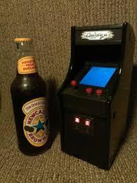 Galaga Arcade Cabinet Tiny Galaga Arcade Cabinet Created From Nintendo Ds Walyou