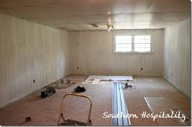 paint paneling house renovation week 12 paint that paneling people southern