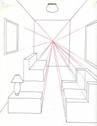 draw room to draw a room using one point perspective