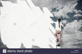 paint wall in colors stock photo royalty free image