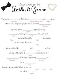 wedding mad libs template 28 images 14 free and printable