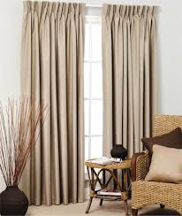 Pinch Pleated Lined Drapes Broome Pinch Pleat Curtains Blockout Window Treatments