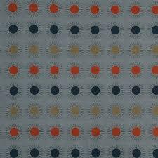 Geometric Fabrics Upholstery Orange Blue Geometric Upholstery Fabric Modern Grey Blue