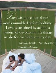wedding quotes nicholas sparks is more happy club