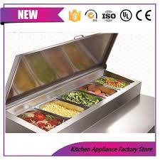 table top cooler for food 420l table top salad bar refrigerator supermarket display cabinet
