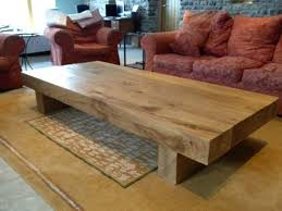 fancy large wood coffee table large wooden coffee table diy idea