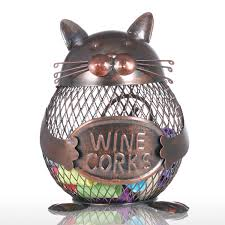 best and cheap brown kitten wine cork container animal ornament