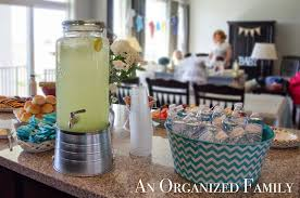 country baby shower ideas an organized family project a modern country baby shower