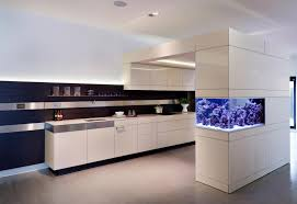aga in modern kitchen no room for an aquarium think again 20 unusual places in your