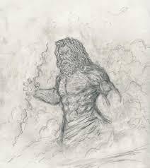 zeus sketch by zaryuu on deviantart