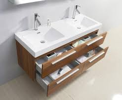 attractive 54 inch vanity and 54 inch sink wall