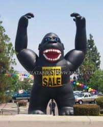 gorilla balloon china gorilla balloons rooftop balloon for