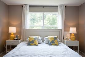 World Market Headboards by Yellow And Gray Bedroom Contemporary Bedroom Benjamin Moore