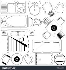 Floor Plan Furniture Symbols Floor Furniture Floorplan
