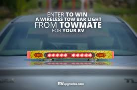 wireless tow light bar enter to win this weeks giveaway a towmate 26 wireless tow light