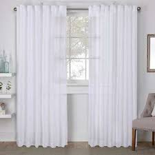 Outdoor Winter Curtains White Outdoor Curtains Drapes Window Treatments The Home
