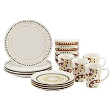 Dining Room Plate Sets by Dining Room Sango 40 Piece Nova Brown Stoneware Dinnerware Set