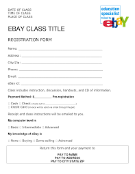 100 participant registration form template 10 vendor