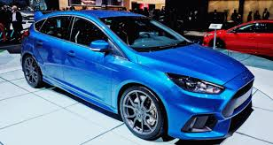 high performance ford focus 2016 ford focus rs usa