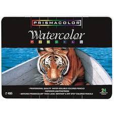 prismacolor watercolor pencils prismacolor watercolor pencil 24 set hobby lobby