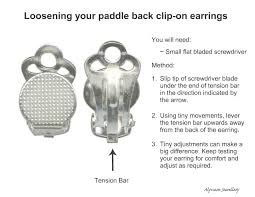 how to make your own clip on earrings how to adjust your clip on earrings clip on earrings australia