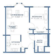 apartment floor plans pioneercare options