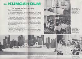 Masonic Home Decor Swedish American Line M S Kungsholm Masonic Cruise Brochure Deck